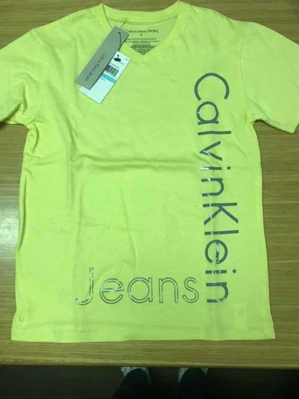 Dos Remeras Nuevas Calvin Klein Y Cheeky Talles 5 Y 6