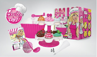 Barbie Chef Cupcake Party