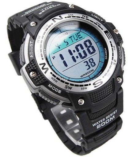 Relógio Casio Outgear Sgw-100 Termômetro Bússola Sgw 100