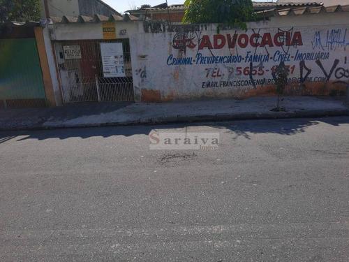 Terreno À Venda, 350 M² Por R$ 670.000,00 - Baeta Neves - São Bernardo Do Campo/sp - Te0318