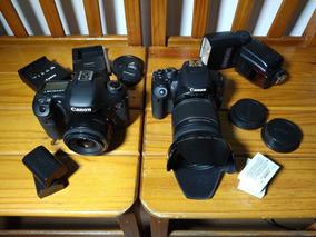 Canon 7d + T5i Com 2 Lentes + Acessórios. (usados)