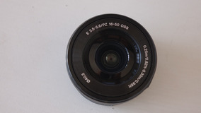 Lente Sony 16-50mm E-mount