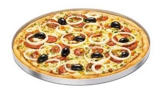 Forma Circular Prático Assar Salgados Forno Festa Mini Pizza