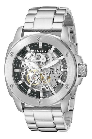 Reloj Fossil Original Automatico Extensible Metálico Bq 2425