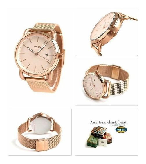 Reloj Para Mujer Fossil Es4331 Plat / 4333 Dorad Varios Mode