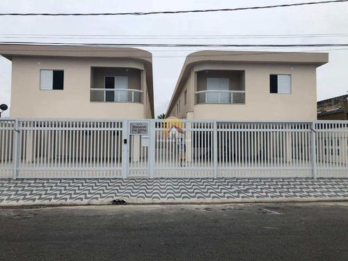 Sobrado De Condomínio Com 2 Dorms, Anhanguera, Praia Grande - R$ 180 Mil, Cod: 5863 - V5863