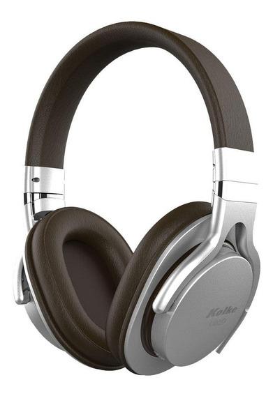 Fone De Ouvido Bluetooth Liberty Prata/marrom Kabt-102 Kolke