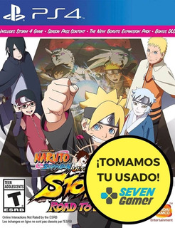 Naruto Ultimate Ninja 4 Road To Boruto 4 Ps4 Juego Sellado
