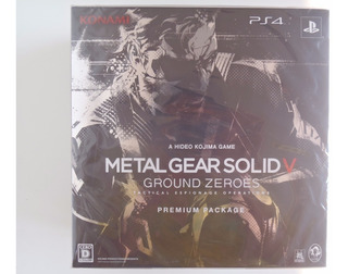 Metal Gear Solid V: Ground Zeroes - Premium Package - Nuevo