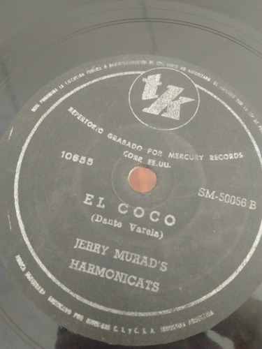 Jerry Murads Harmonicats Disco Pasta Tk C25
