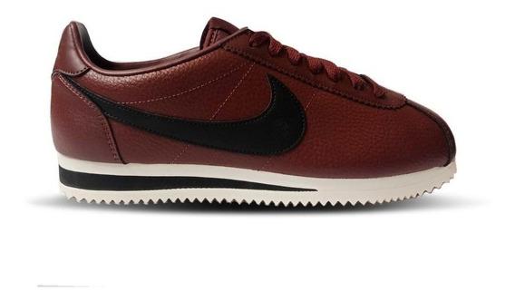 Tenis Nike Classic Cortez Leather Cafe # 25 Al 27.5 Cm Msi