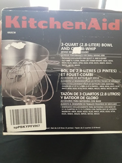 Tazon Y Batidor Kitchenaid