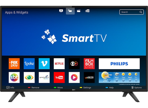 Smart Tv Philips Led 43 Full Hd 2 Hdmi Wi-fi 43pfg5813