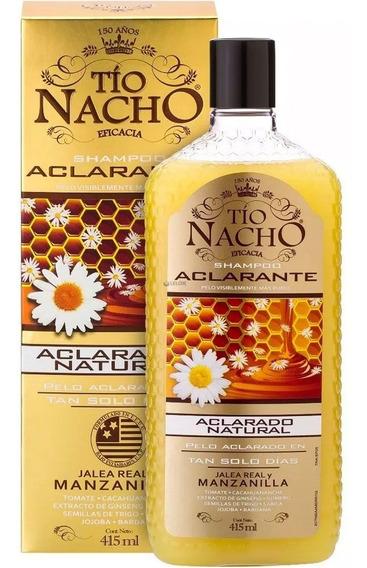 Tío Nacho Aclarante Shampoo Cabello Rubio Manzanilla 415ml