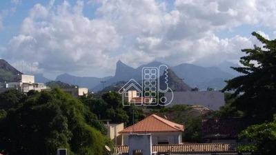 Apartamento Com 1 Dormitório À Venda, 50 M² Por R$ 300.000 - São Francisco - Niterói/rj - Ap2629
