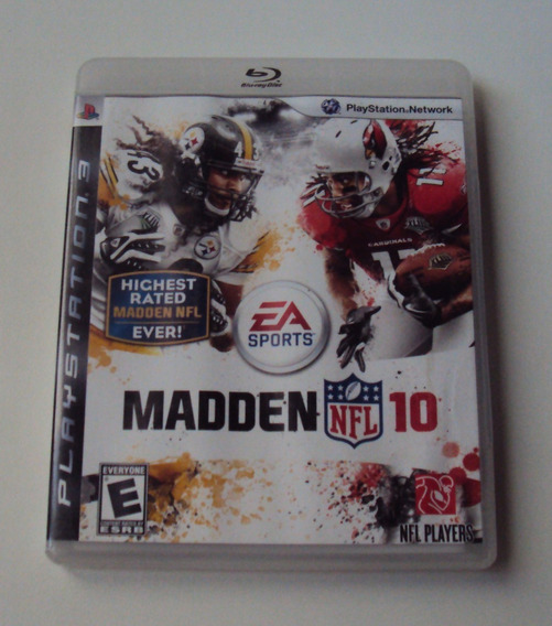 Madden 10 Original - Playstation 3