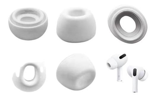 Borrachinhas Ear Pads Silicone Ear Caps AirPods Pro Airpods3