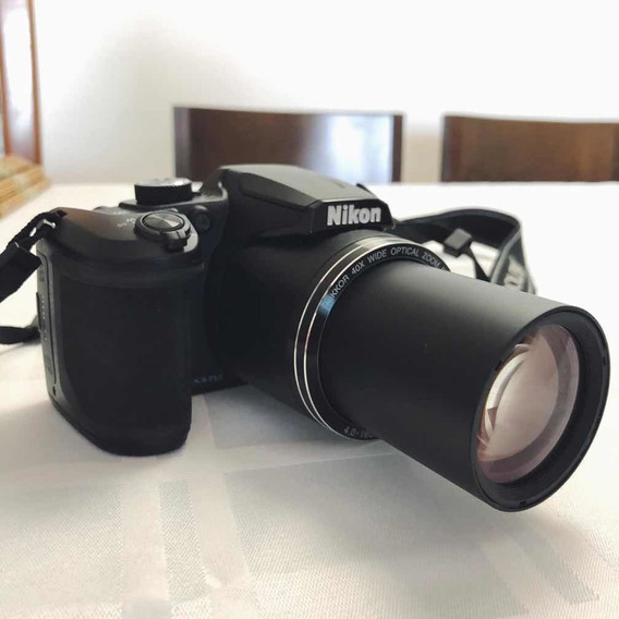 Câmera Nikon Coolpix B500+cartão Memoria 32gb