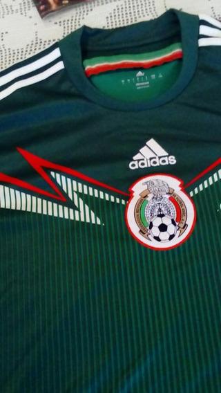 Playera Original Y Official De Mexico Mundial 2014