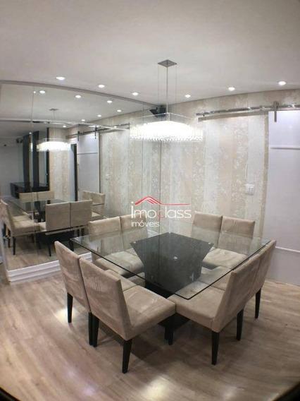 Apartamento Com 3 Dormitórios À Venda, 99 M² Por R$ 390.000 - Jardim Bela Vista - Nova Odessa/sp - Ap0528
