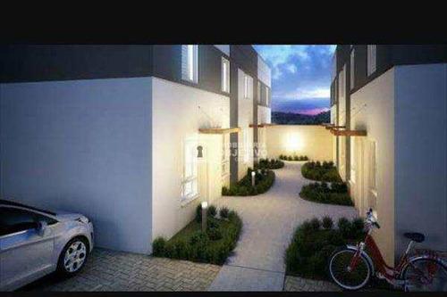 Sobrado De Condomínio Com 2 Dorms, Centro (caucaia Do Alto), Cotia - R$ 200 Mil, Cod: 2910 - V2910