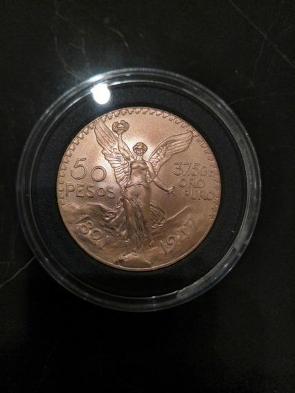$50 Pesoss De Oro Centenario Moneda 22k 41.6g