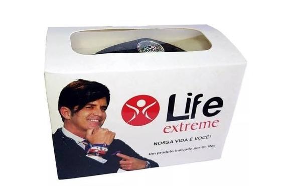 Pulseira Bioquantica Life Extreme Cor Preta