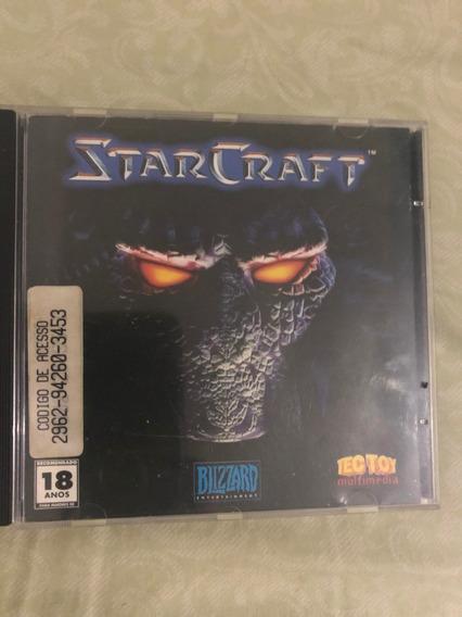 Jogo Pc Starcraft Star Craft Tec Toy