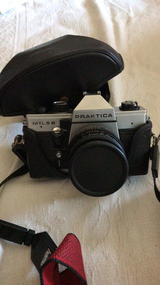 Câmera Fotográfica Alemã Praktica Mtl 5b