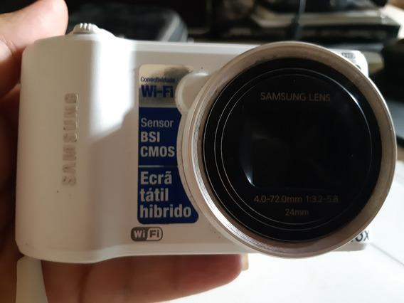 Câmera Samsung Smart Wb150f, Com Wi-fi E Touchscren