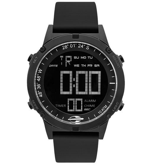 Relógio Mormaii Mow13901a/8p Mow13901a 8p Preto Acqua Slim