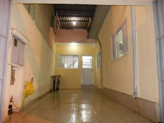 Casa Térrea Para Venda No Bairro Vila Alzira - 8043giga