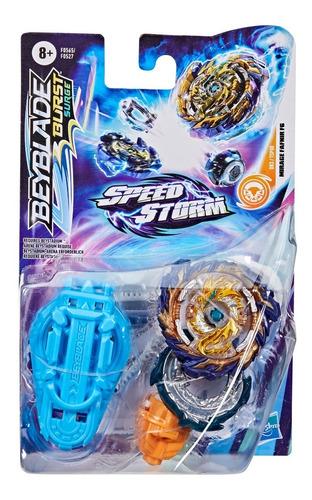Imagen 1 de 4 de Beyblade Speedstorm Trompo + Lanzador Mirage Fafnir Hasbro