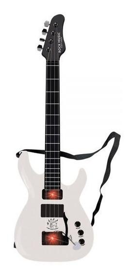 Guitarra Infantil Elétrica C/som Corda De Aço Menino Menina