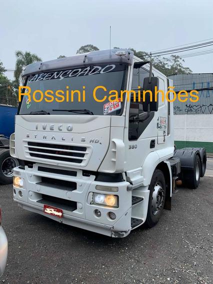 Iveco Stralis 380 2007 Trucado Com Ar 2540 1634 1938 113 112