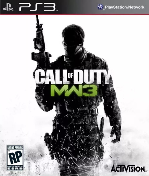 Jogo Call Of Duty Modern Warfare 3 Cod Mw3 Mídia Física Ps3
