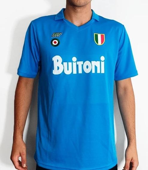 Napoli 87/88 Retro - Maradona, Careca, Ferrara, Giordano