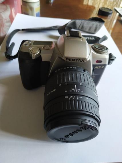 Câmera Pentax Mz-7+lente 28-80m - Raridade, Perfeito Estado