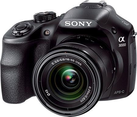Câmera Profissional Sony Ilce 3000