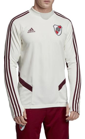 Buzo adidas Futbol River Plate Trainning Hombre Cr/bd