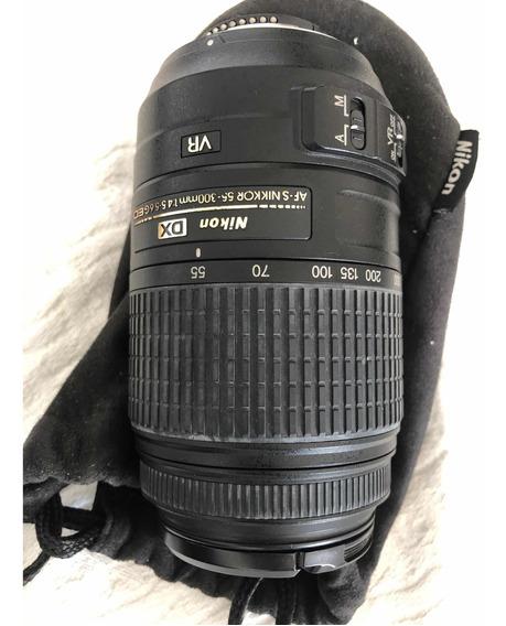 Camera Nikon D5100 Pouco Usada Com 3 Letres E Acessórios