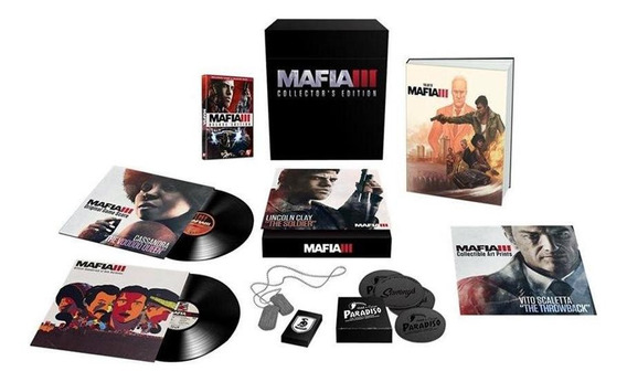 Mafia Iii Collectors Edition Ps4 Mídia Física Pronta Entrega