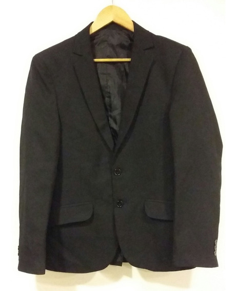 Saco Negro For Mens Talle M
