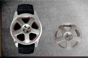 Relógio De Pulso Personalizado Roda Santa Monica Esportiva 1
