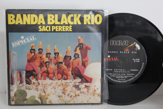 Lp Compacto Banda Black Rio - Saci Pererê - Especial - 1980