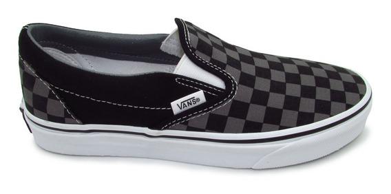 Tenis Vans Slip On Classic Vn000eyebpj Checkerboard Unisex