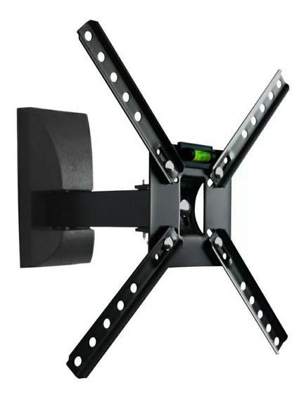 Kit C/8 Suporte Art Tv Movel Brasforma Sbrp130 Preto 10 A 50