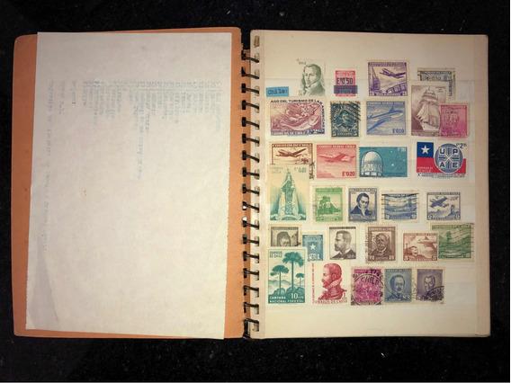 Colección De Estampillas. Tercera Parte, 642 Sellos Postales