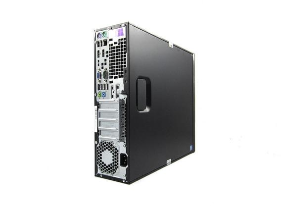 Desktop Hp Elitedesk 600 G1 8gb Hd 500 I5 Completo Frete Grá