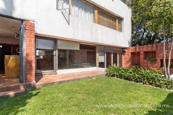 Casa En Renta En Lomas Altas, Miguel Hidalgo, Cdmx